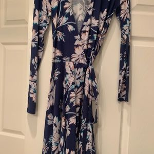 Yumi Kim floral wrap dress